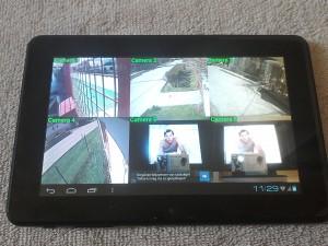 Kamera rendszer tábla pc